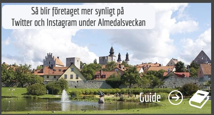 Guide hashtags Almedalen LI