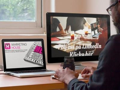 Följ Marketinghouse på LinkedIn
