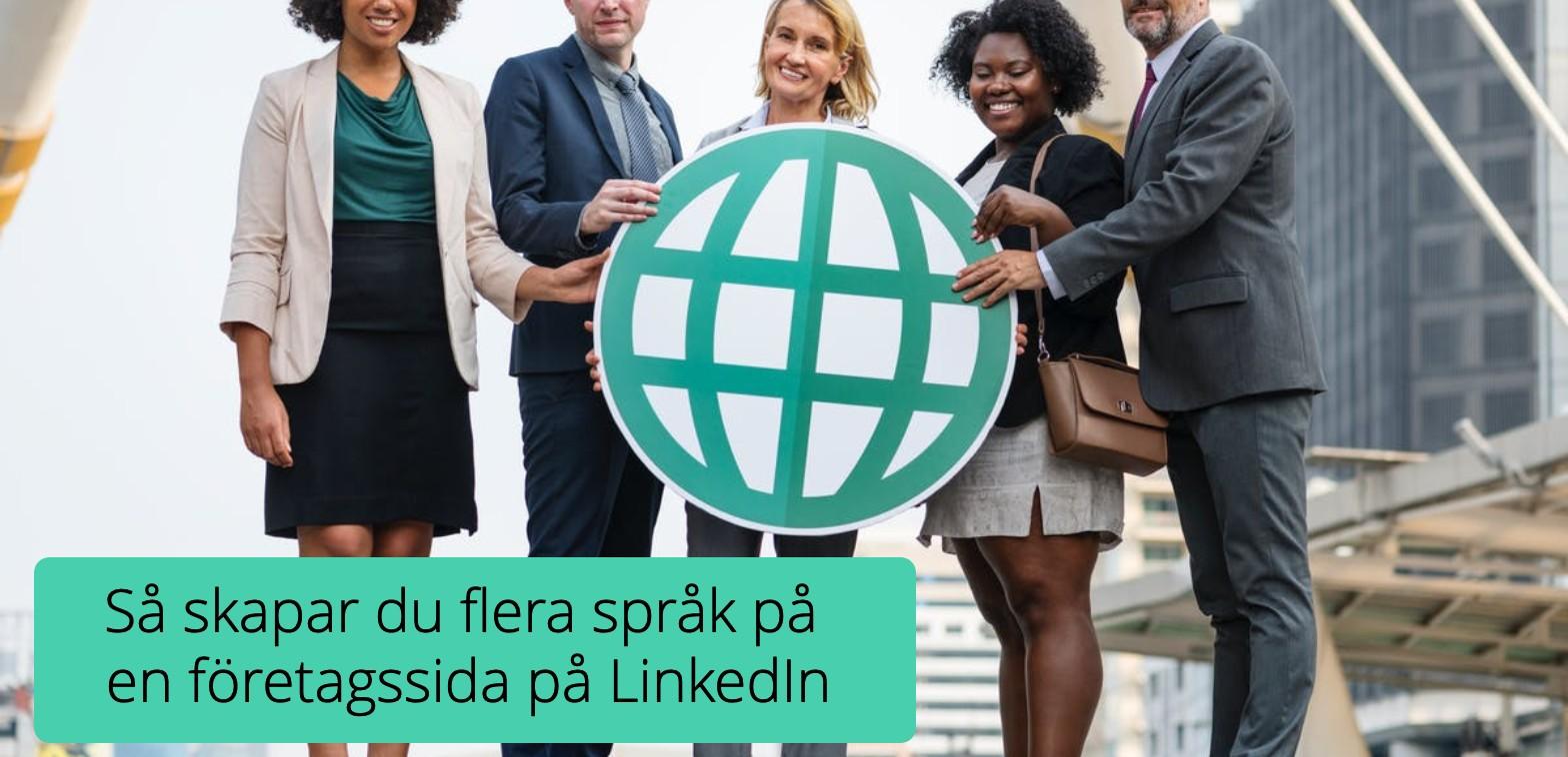 Linkedin språ´k företagssida LI