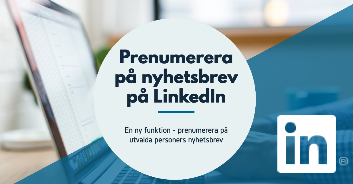 News LinkedIn Newsletter blog Marketinghouse